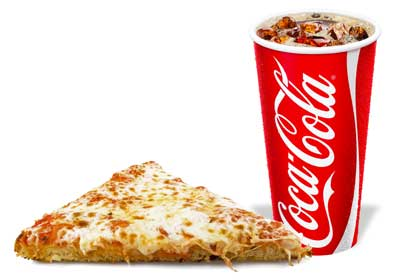 coke-pizza